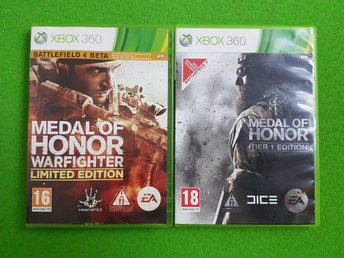 Medal of Honor 2-pack Xbox360 xbox 360