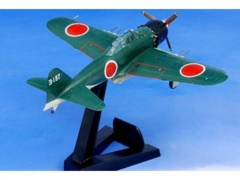Spring Sale! Japanese A6M5 Zero fighter - Saburo Sakai - 1/72 scale - 1-kronas!