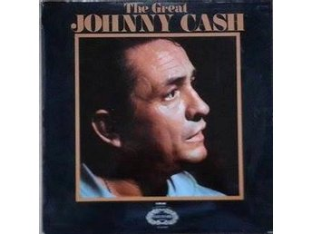 Johnny Cash titel* The Great Johnny Cash* Country UK LP - Hägersten - Johnny Cash titel* The Great Johnny Cash* Country UK LP - Hägersten
