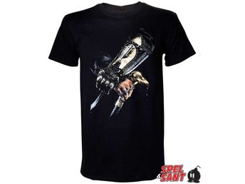 Assassins Creed Syndicate Hidden Blade T-Shirt Svart (Large)