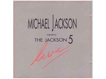 "Vinyl-skiva Michael Jackson with the Jackson 5 ""Live"""