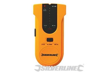 3-in-1 Detector Compact detecting timber such as studs & ceiling joists