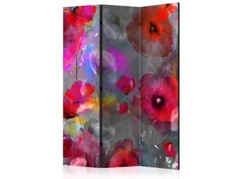 Rumsavdelare - Painted Poppies Room Dividers 135x172