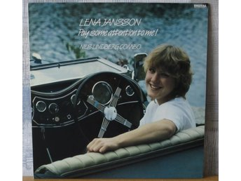 LENA JANSSON  :: PAY SOME ATTENTION TO ME !   (LP)