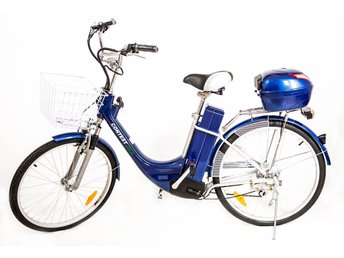 NY Elcykel DAM -ECO 250W-city.Blue