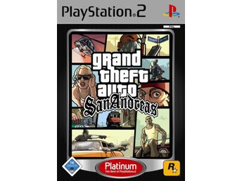 Grand Theft Auto: San Andreas - Platinum - Playstation 2
