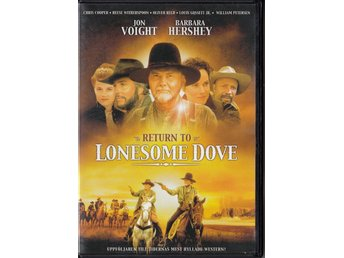 Return to Lonesome Dove 1993 2-Disc DVD