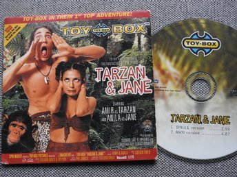 Toy-Box - Tarzan & Jane CD Singel 1998