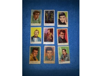 Filmisar 9 ST James Dean. Rick Nelson. Fabian Bill Haley Blue Diamonds.