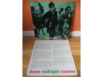 Dexys Midnight Runners: Searching For The Young Soul Rebels. LP / UK 1:a press ?