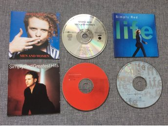Simply Red 3st CD I ETT Paket