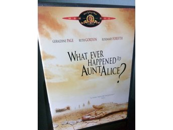 WHAT EVER HAPPENED TO AUNT ALICE (1969) OOP!