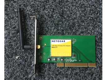 Netgear 108 Mbps Wireless PCI Adapter