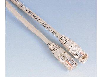 HAMA Kabel Nätverk Cat5e 0,5m Oskärmad Grå ST - Höganäs - HAMA Kabel Nätverk Cat5e 0,5m Oskärmad Grå ST - Höganäs