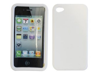 iPhone 4/4S Silikon skal & Displayskydd