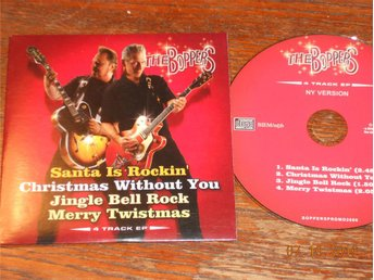 THE BOPPERS - Santa is Rockin' +3, CD Maxi Promo Bonnier Music 2006
