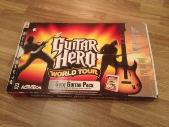 Guitar hero I box till Playstation 3 / Ps3
