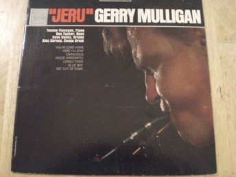 Gerry Mulligan - Jeru [SWEDISH PRESS ]