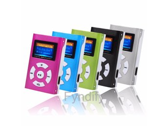 Mini MP3-Spelare Silver