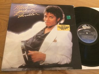 MICHAEL JACKSON thriller LP -82 Hol EPIC EPC 85930