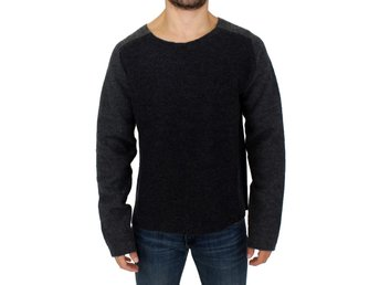 Costume National - Gray wool crewneck sweater