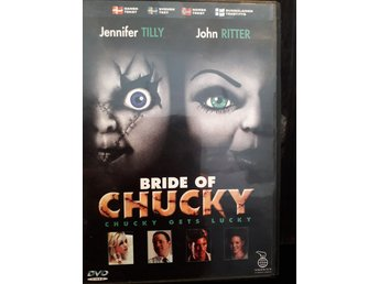 DVD Bride of Chucky Jennifer Tilly John Ritter