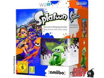Splatoon (inkl. Inkling Squid Amiibo)