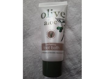 Olive/aloe softening foot bath/fotbad 60 ml