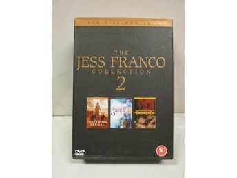 JESS FRANCO COLLECTION 2 (ANCHOR BAY) - (6 DISK) - MKT FINT SKICK!