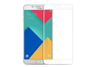 Samsung Galaxy Note 4 - Skärmskydd i Härdat Glas/Tempered Screen Protector- Vit