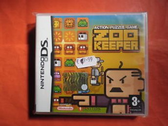 Action Puzzle Game Zoo Keeper - Nintendo DS