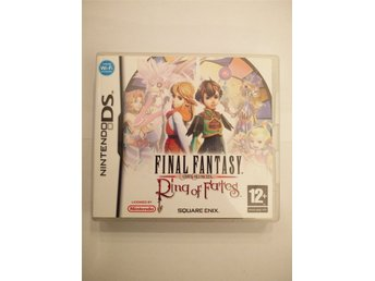 Final Fantasy Crystal Chronicles Ring of Fates KOMPLETT NDS Nintendo DS