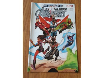 The all-different Avengers Special peek (Marvel, Free comic book day ex)