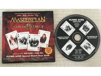 Masterplan / Circle II Circle / Rob Rock / Pure Inc (CD-Promo) AFM