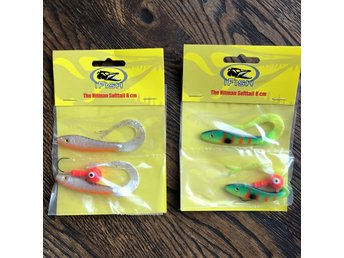 2 x IFISH The Hitman Soft Tail 8 cm NYA