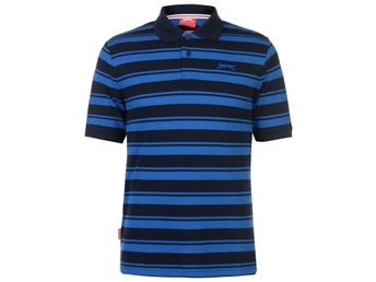 SLAZENGER  STRIPE GOLF PIKE BLÅSVART  LARGE