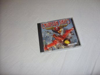 Microsoft Crimson Skies PC CD ROM Engelsk flyg arkad spel 2000 retro