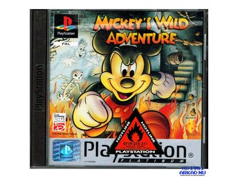MICKEYS WILD ADVENTURE PS1 PLATINUM