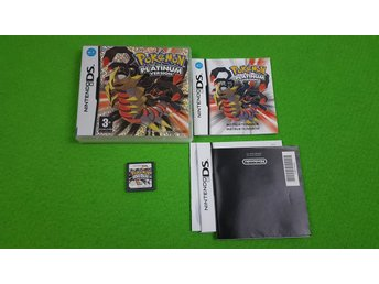 Pokemon Platinum Version SVENSK UTGÅVA Nintendo DS