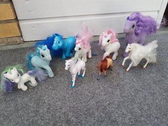 Nio ponny hästar en del My little pony (330579612) ᐈ Köp på Tradera 7ecf9993636ab