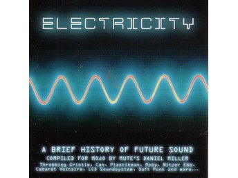 Mojo Presents ELECTRICITY / Samlings-CD