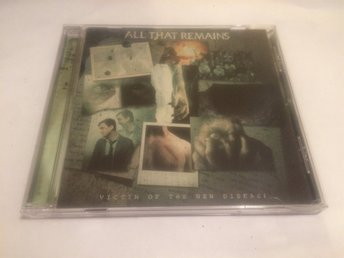 ALL THAT REMAINS Victim of the New Disease CD 2018 Import