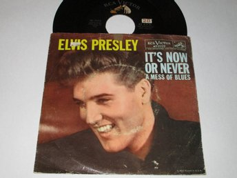 ELVIS PRESLEY US SINGEL IT`S NOW OR NEVER