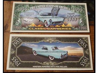 "CLASSIC CAR SERIES ""1955 FORD THUNDERBIRD CAR - Hällingsjö - CLASSIC CAR SERIES ""1955 FORD THUNDERBIRD CAR - Hällingsjö"