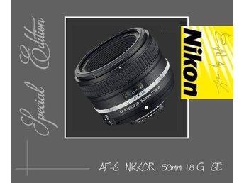 Nikon AF-S 50/1,8G Special Edition NY - Sturkö - Nikon AF-S 50/1,8G Special Edition NY - Sturkö