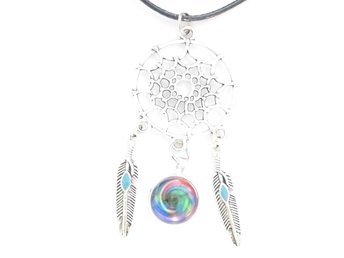 Drömfångare halsband / Dreamcatcher necklace