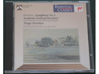Brahms: Symphony No. 4 -- CD -- 1990 -- Sony