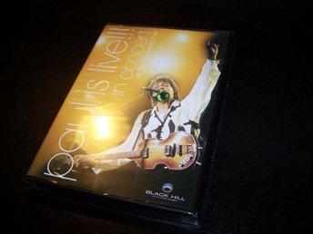 Paul McCartney - Paul Is Live!!! In Concert DVD NY / INPLASTAD musik - beatles - Gnesta - Paul McCartney - Paul Is Live!!! In Concert DVD NY / INPLASTAD musik - beatles - Gnesta