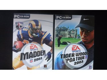 Tiger Woods PGA Tour 2003 /  MADDEN 2003  PC