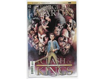 George R.R. Martin's A Clash of Kings # 2 Cover A NM Ny Import
